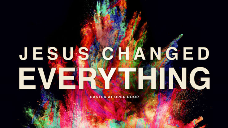 Jesus Changed Everything concept 4