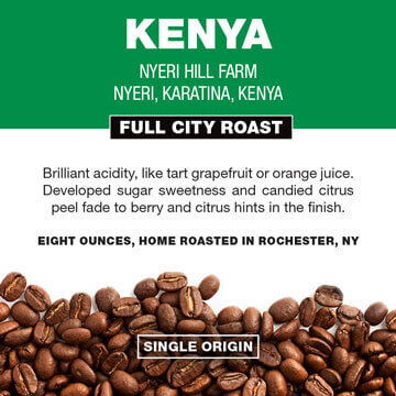 Ken's Coffee labels