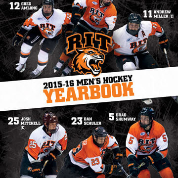 RIT Hockey Yearbook