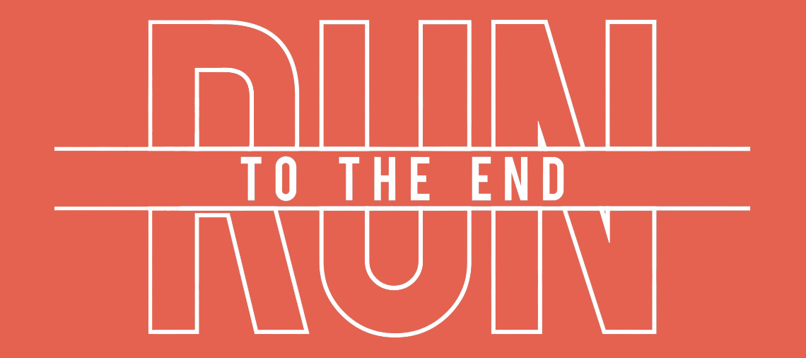 Run to the End 5K fundraiser Rochester, NY logo